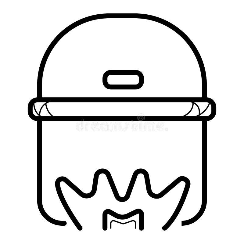 Cozinhando o vetor do ícone ilustração royalty free