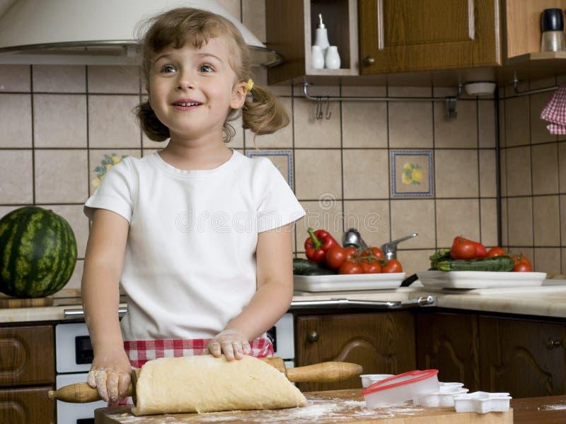 Cozinhar é divertimento fotografia de stock