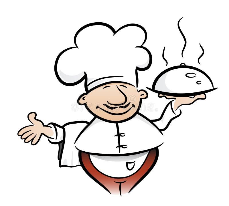 Cozinheiro ilustração do vetor