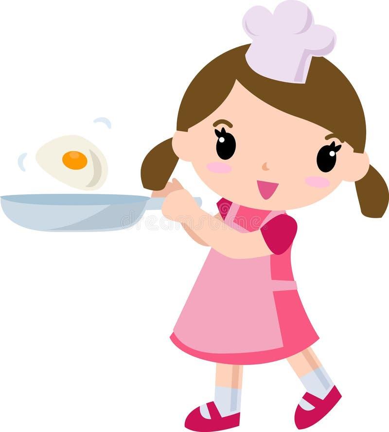 Cozinheiro ilustração royalty free