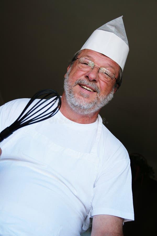 Cozinheiro amigável foto de stock