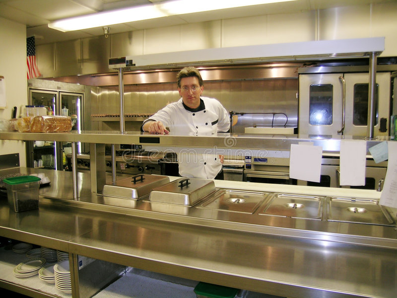 Cozinheiro chefe imagens de stock royalty free