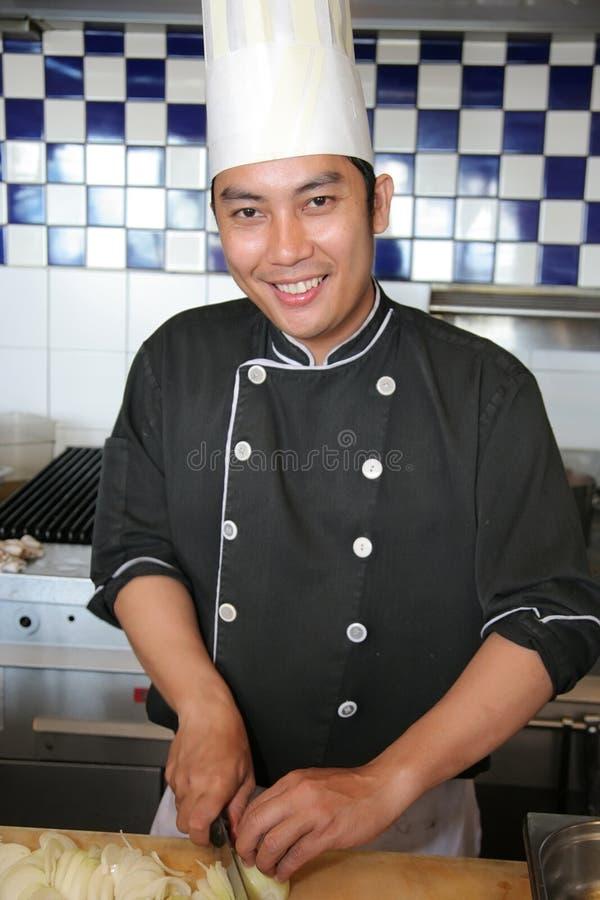 Cozinheiro chefe imagem de stock royalty free