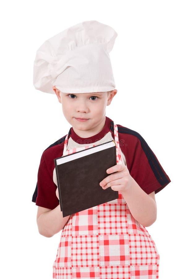 Cozinheiro chefe da criança fotos de stock
