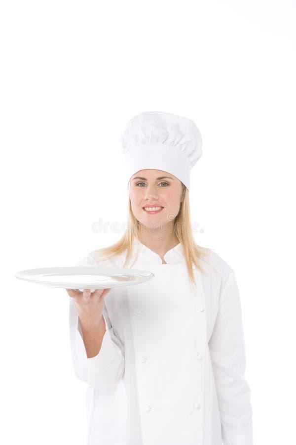 Cozinheiro chefe da mulher fotos de stock royalty free