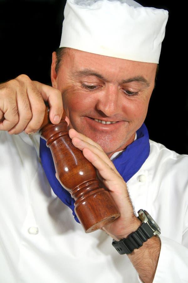 Cozinheiro chefe da pimenta fotografia de stock royalty free