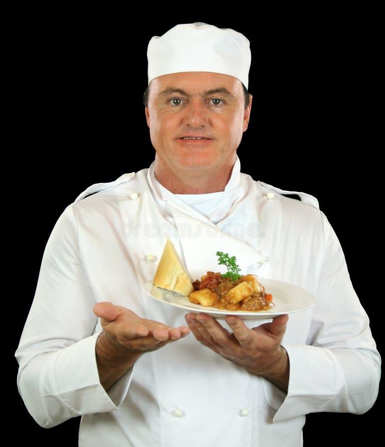Cozinheiro chefe da refeição imagens de stock royalty free
