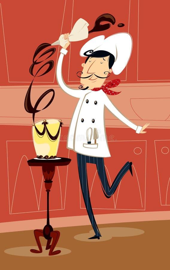 Cozinheiro chefe de pastelaria