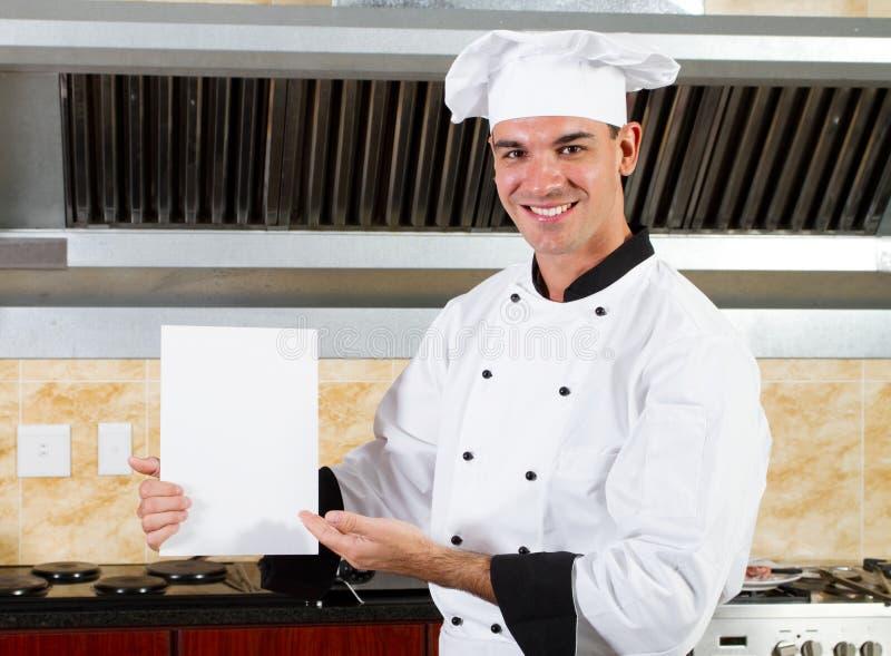 Cozinheiro chefe masculino fotos de stock royalty free