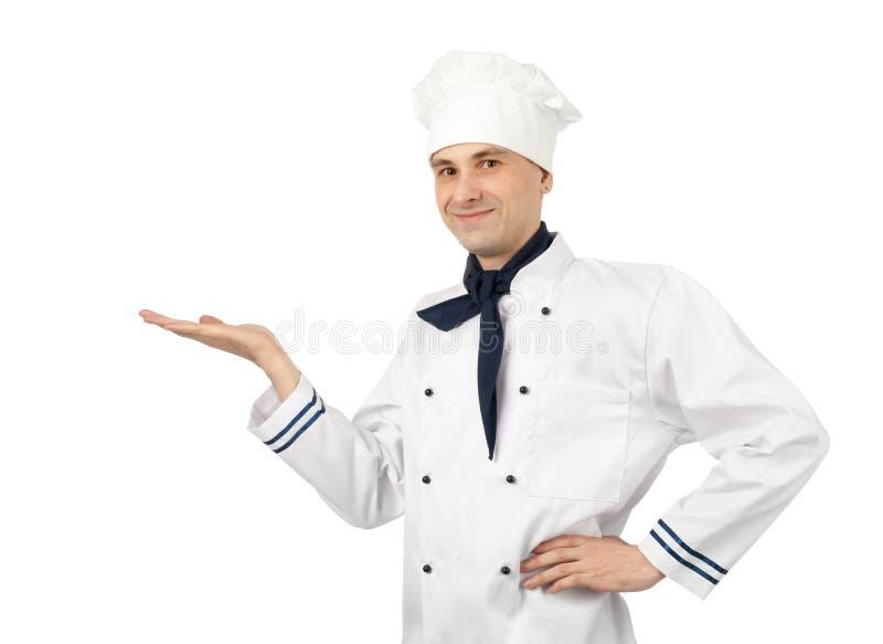 Cozinheiro chefe masculino imagens de stock