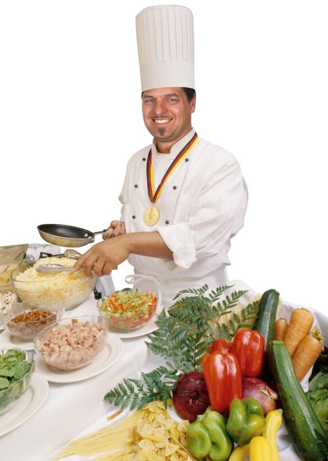Cozinheiro chefe mestre fotografia de stock royalty free