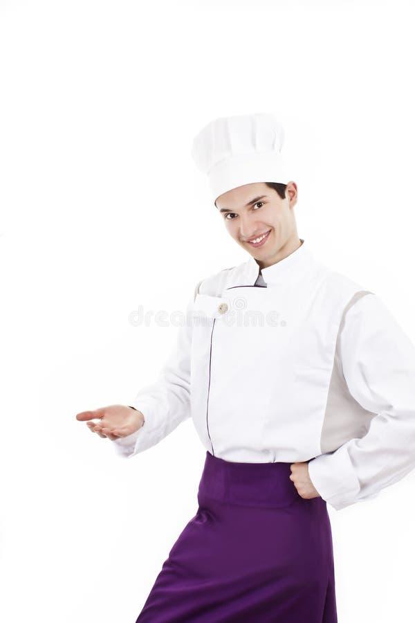 Cozinheiro chefe novo fotos de stock