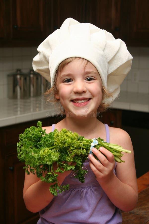Cozinheiro chefe novo imagens de stock