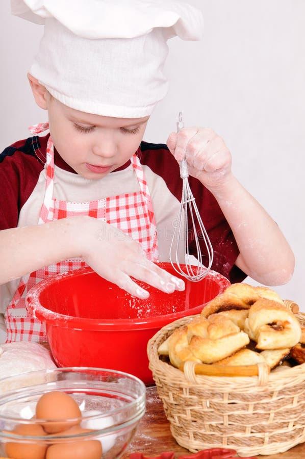 Cozinheiro da criança imagem de stock royalty free