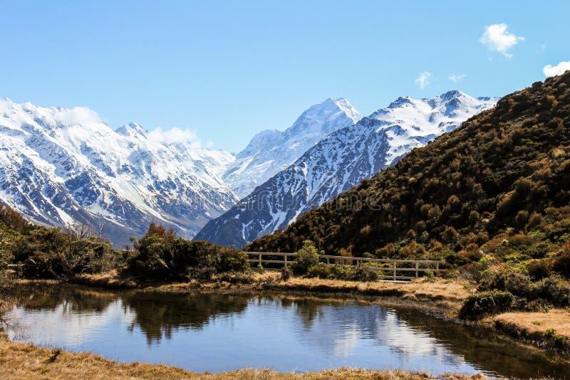 Cozinheiro da montagem, Nova Zelândia imagens de stock