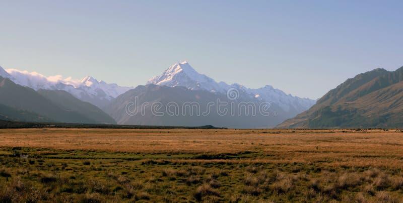 Cozinheiro da montagem, Nova Zelândia fotos de stock