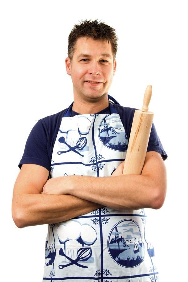 Cozinheiro feliz fotos de stock royalty free