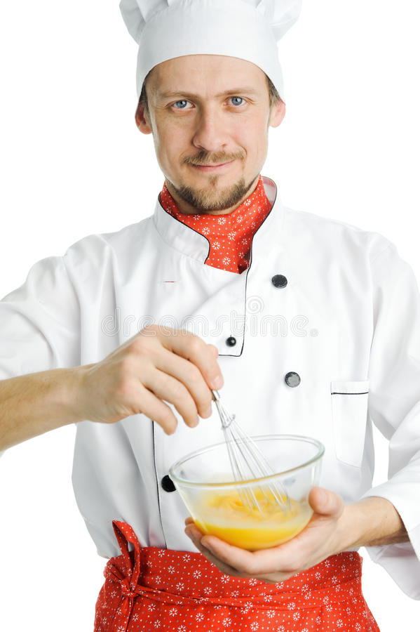 Cozinheiro Positivo Fotos de Stock Royalty Free