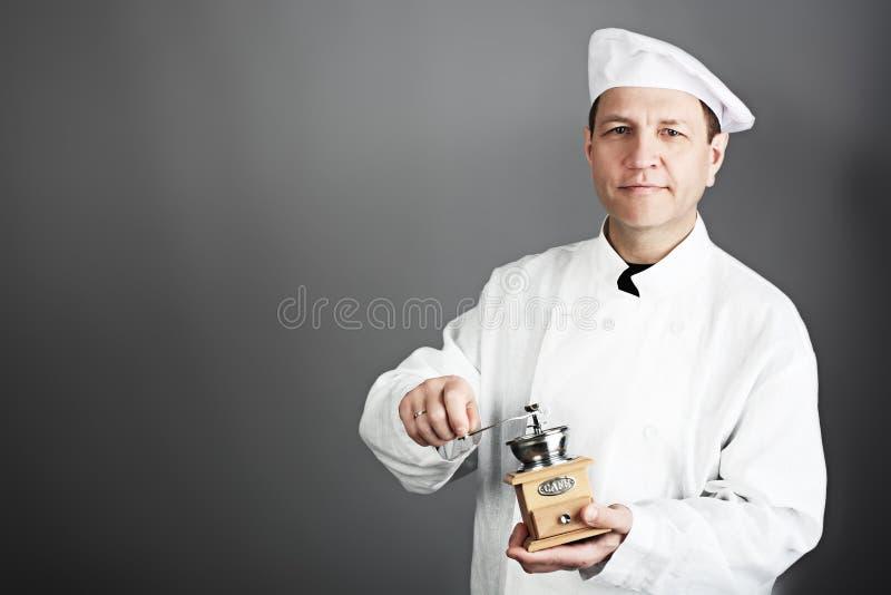 Cozinheiro principal fotografia de stock