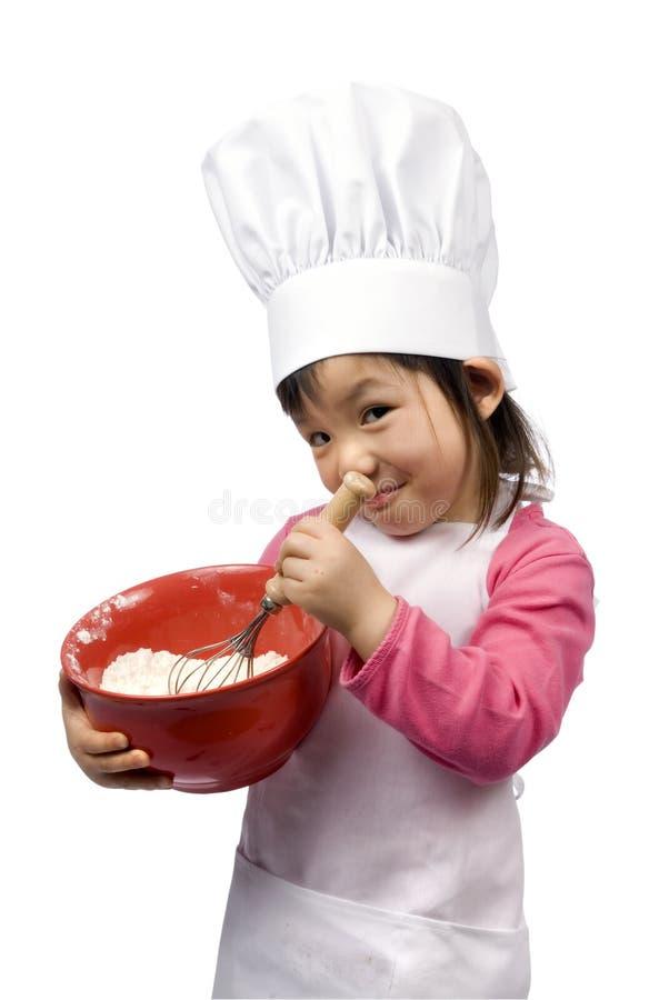 Cozinheiros chefe pequenos 008 foto de stock