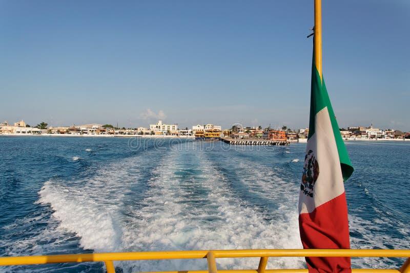 cozumelö mexico yucatan royaltyfria bilder