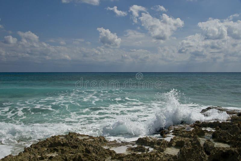 cozumel ωκεανός του Μεξικού στοκ φωτογραφίες