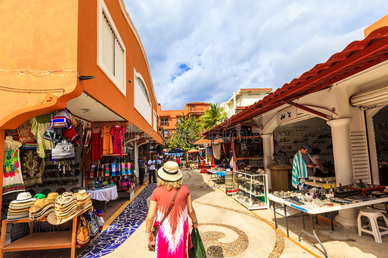 Cozumel` Colors royalty free stock photography