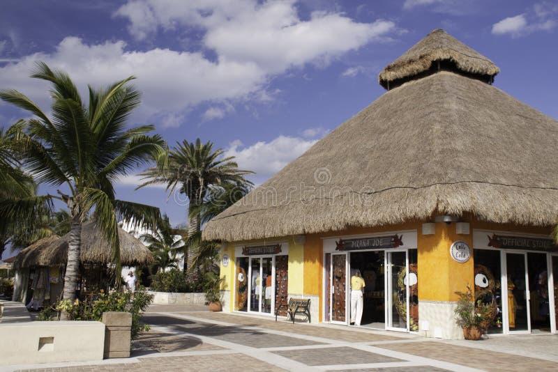 Cozumel México - loja da porta do cruzeiro fotos de stock royalty free