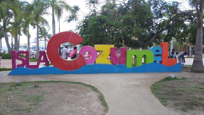Cozumel Mexico royaltyfria foton