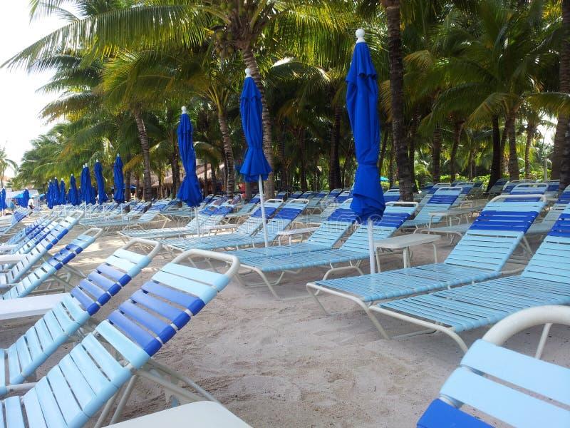 Cozumel Mexiko strandtid royaltyfri foto