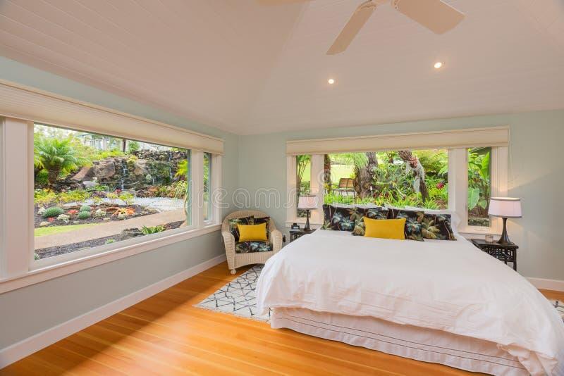 Cozy Bedroom stock images