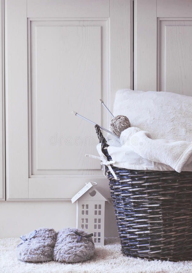 Cozy details royalty free stock images