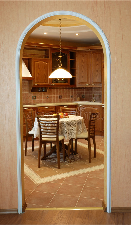 Download Cozy kitchen stock photo. Image of comfort, conveniences - 2300620
