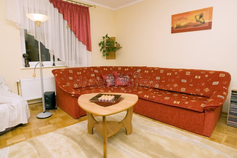 Cozy modern home interior royalty free stock photo