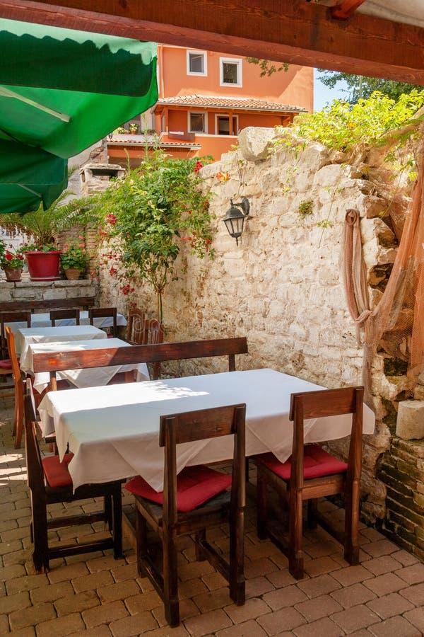 Al Fresco Dining stock images