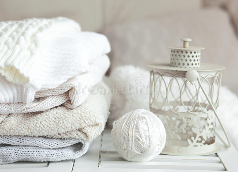 Download Cozy sweaters stock image. Image of knit, fall, home - 34927393