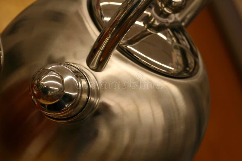 Download Cozy Tea Kettle stock photo. Image of kitchen, aluminum - 4344478