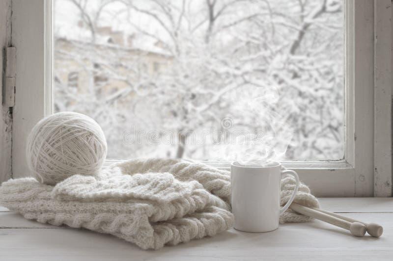 Cozy winter still life royalty free stock photography