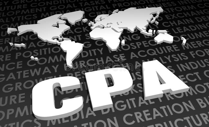 CPA lizenzfreie abbildung
