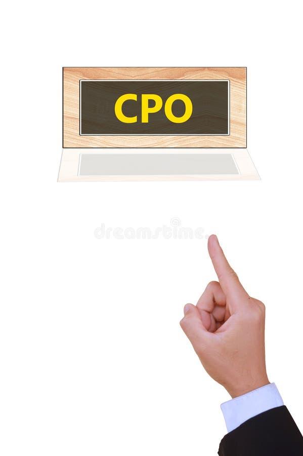CPO foto de archivo libre de regalías