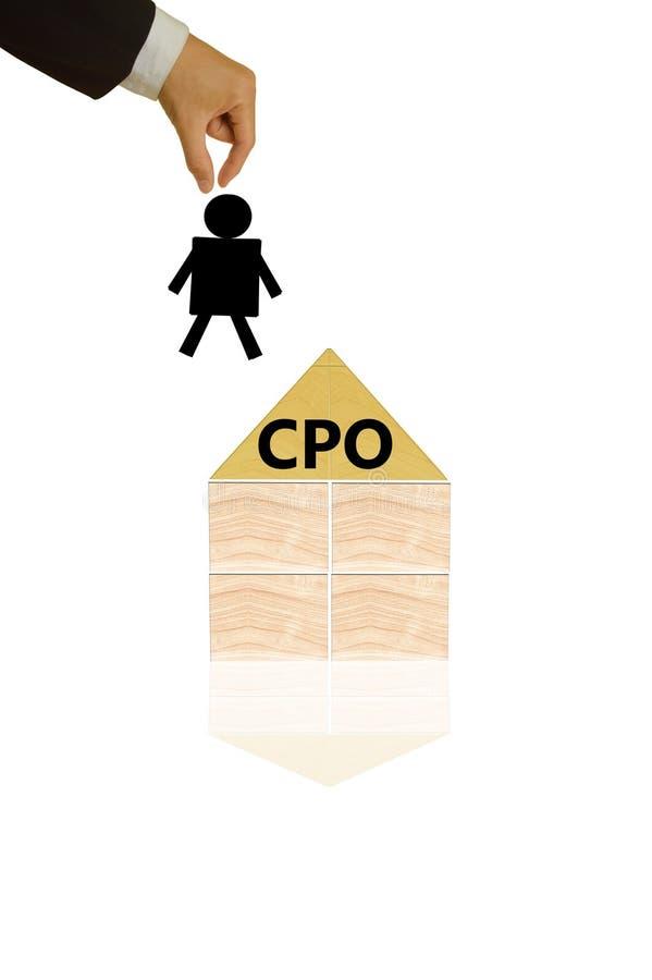 CPO imagen de archivo libre de regalías