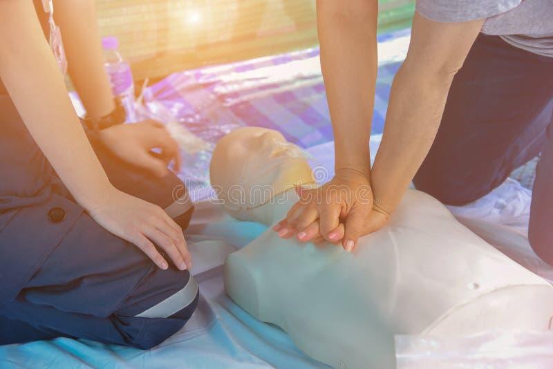 CPR royalty-vrije stock afbeelding