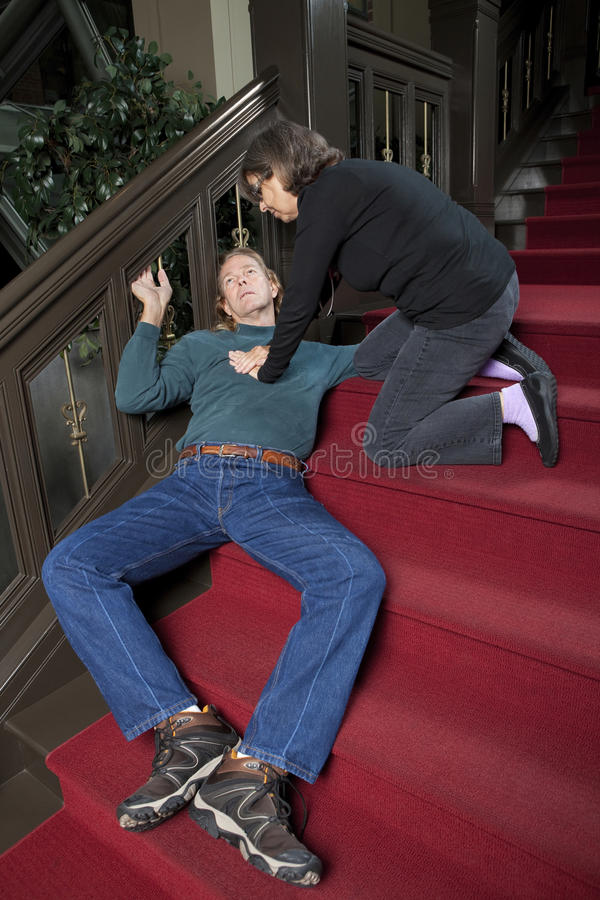 Download CPR stock image. Image of floor, passed, emergency, middle - 21304889