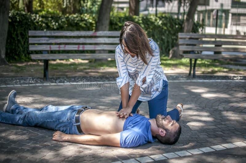 CPR стоковые фото