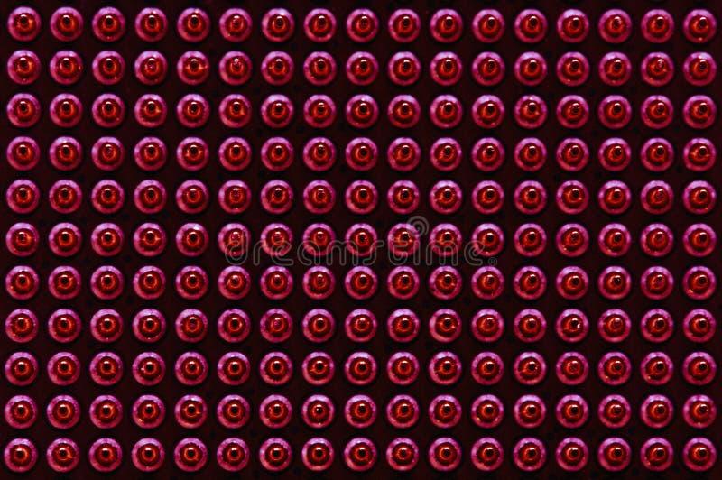 CPU连接别针图表样式 免版税图库摄影
