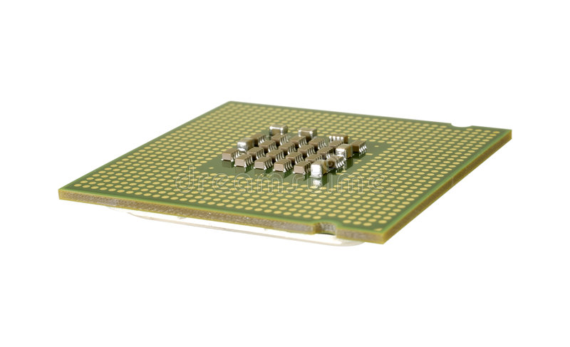 CPU stockfotos