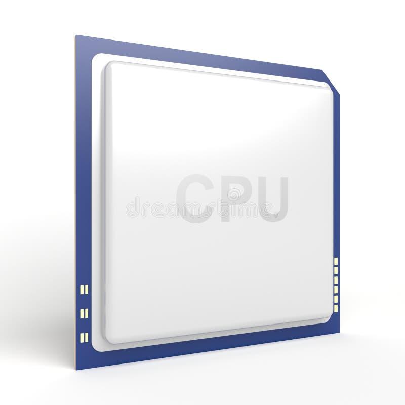 Download CPU stock illustration. Image of calculating, transistor - 22164914