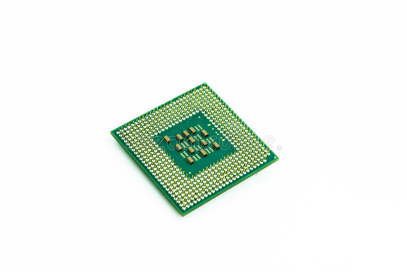 CPU fotografia stock