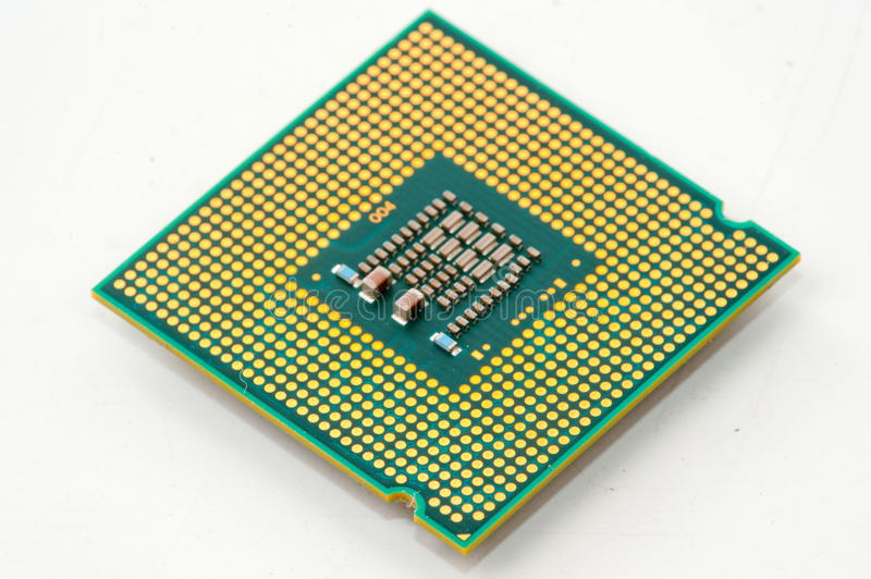 CPU royaltyfri foto