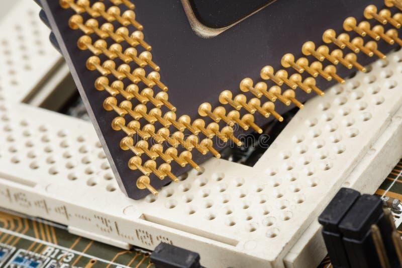 CPU lizenzfreies stockbild